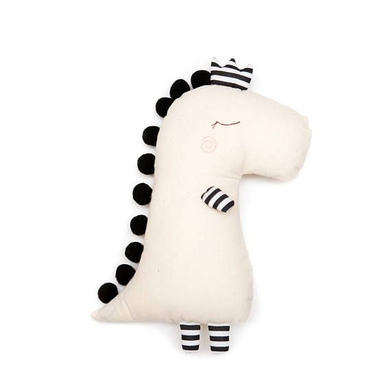 Monochrome Dino doll | Cosas bonitas | Pinterest | Costura, Muñecas ...