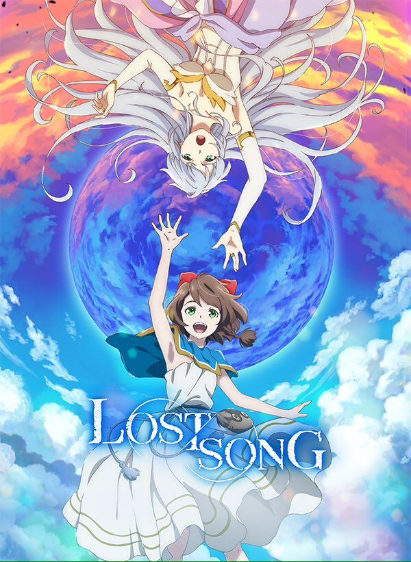 Lost Song TV anime key visual 1/2. (23/09/2017