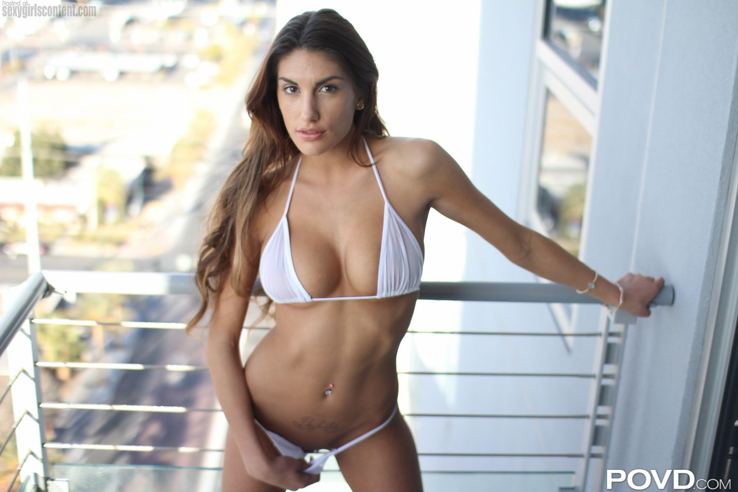 28 beautiful hot august ames bikini big boobs showing pussy dgaa60