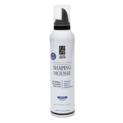 Salon Grafix Shaping Mousse Super Hold Unscented 8 Oz 226 G Ab Http Www Amazon Com Dp B00crf2k2c Ref Cm Sw R Pi D Fragrance Free Products Unscented Mousse
