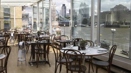 London blueprint cafe amazing views of the thames 1st floor london blueprint cafe amazing views of the thames 1st floor design museum 28 shad thames london bridge bermondsey se1 2yd phone 020 7378 7031 malvernweather Images