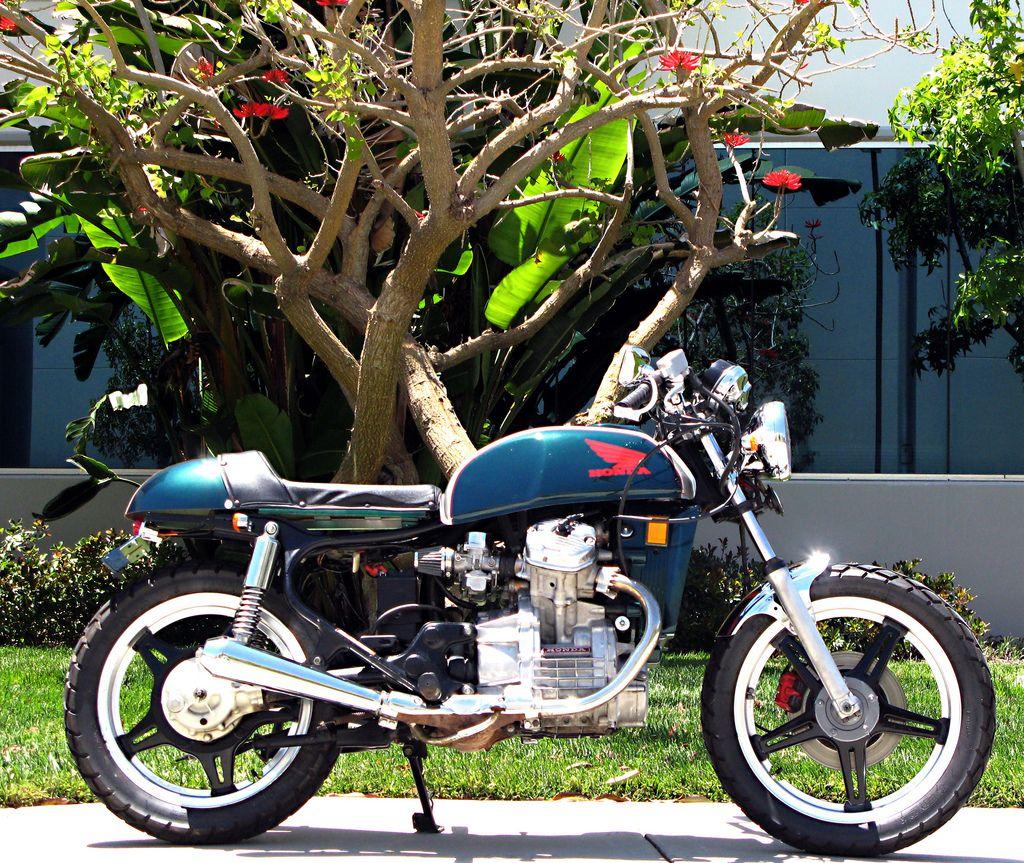 Honda Cx500 Cafe Racer By Kingston Custom: CX500. Deluxe Tank, Chrome-y