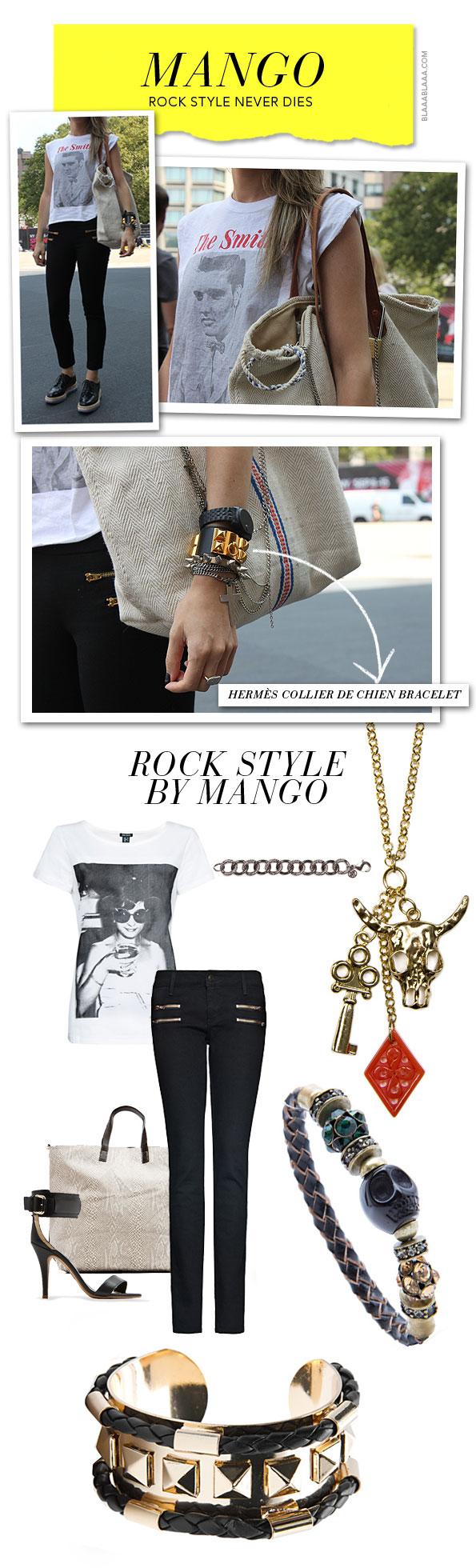 Rock Style Never Dies Stil Rockige Mode Und Rock Style