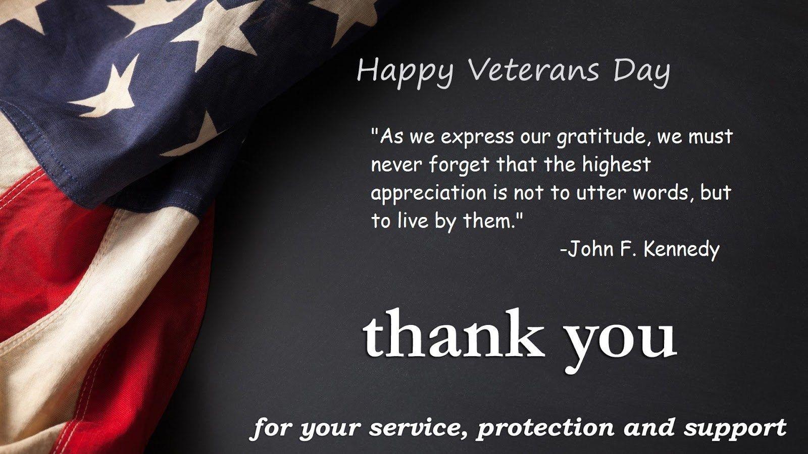 Top 20 veterans day quotes | Veterans day quotes, Happy ...