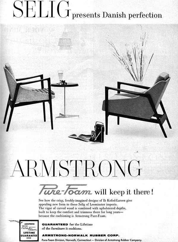 Kofod Larsen Selig Danish Furniture 1959