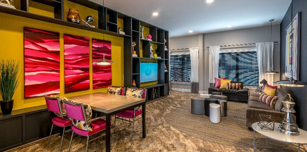 Attractive Merchandising Clubhouse Redesign Company: Interior Concepts Inc. Model: The  Clubhouse At Residences At