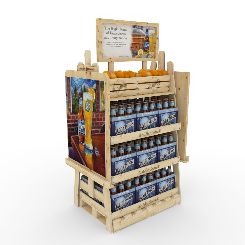 Desarrollo de mobiliario y material pop para promocionar for Mobiliario 8 80