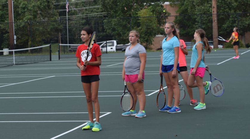 Darlington High School girl's tennis primed to make another region title run (9/3/15)