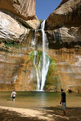 Gunlock Waterfall Moss Covered