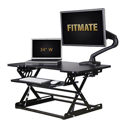 Metal Standing Computer Desk