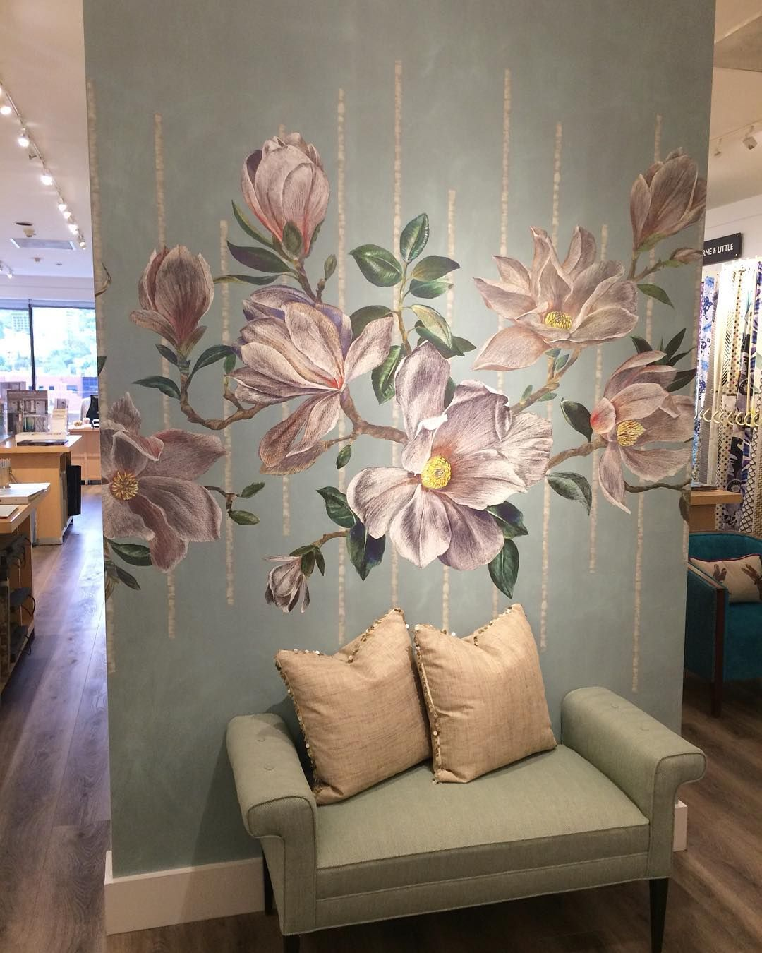 Magnolia Frieze W733801 in 2020 Osborne, little