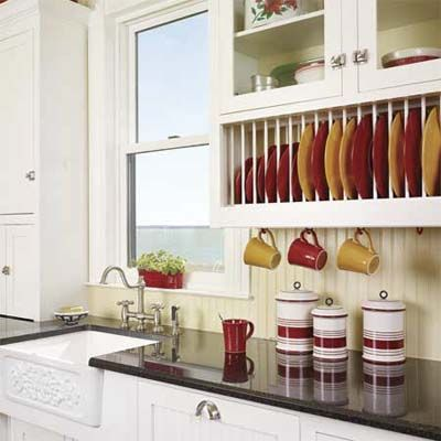 10 Ways To Spruce Up Tired Kitchen Cabinets Diy Projects Kitchen