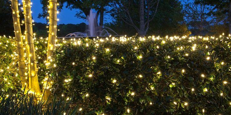 Net Lights And Tree Wraps Christmas Lights Etc In 2020 Christmas Net Lights Christmas Lights Etc Outdoor Christmas Decorations