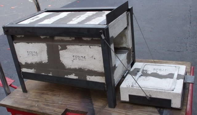 Home made heat treat oven - Machinist Web Forge Burner, Homemade Forge, Diy Forge