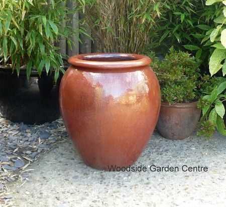 Copper red glazed pot water jar woodside garden centre pots to copper red glazed pot water jar woodside garden centre pots to inspire workwithnaturefo