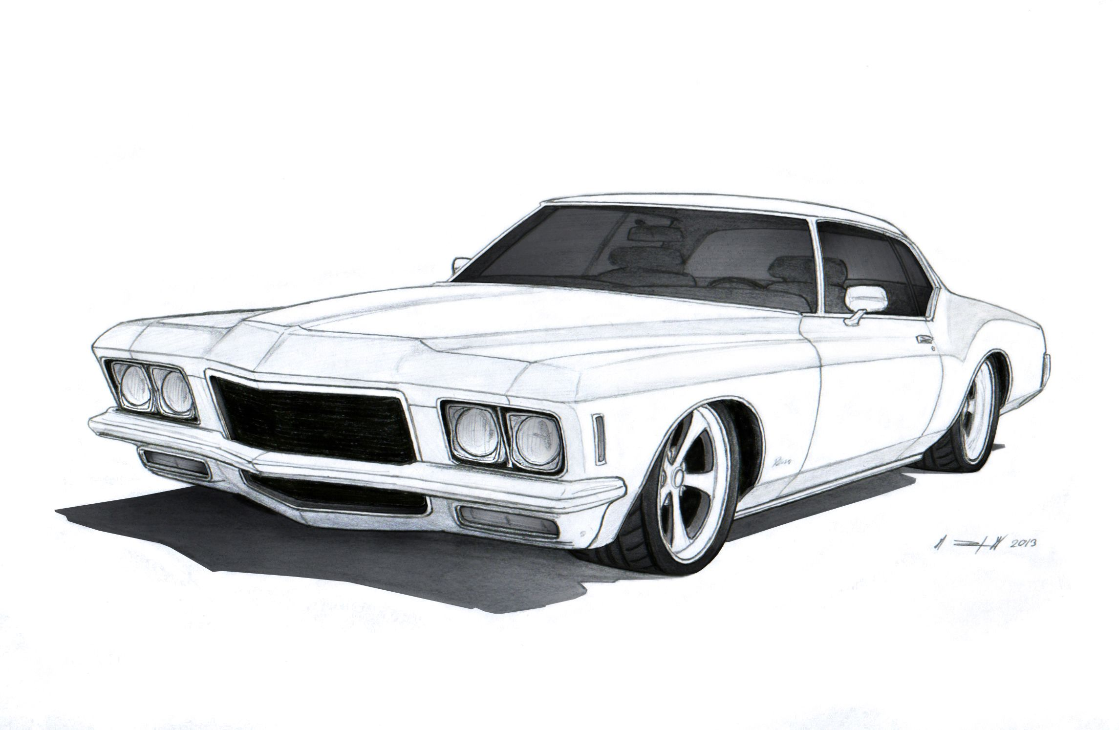 Image Result For Draw A Drift Car Cars To Draw Pinterest