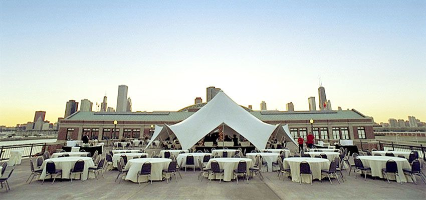 Providing Stunning Views Of Lake Michigan And The Chicago Skyline Rooftop Terrace Is Navy Piers Premier Outdoor Venue