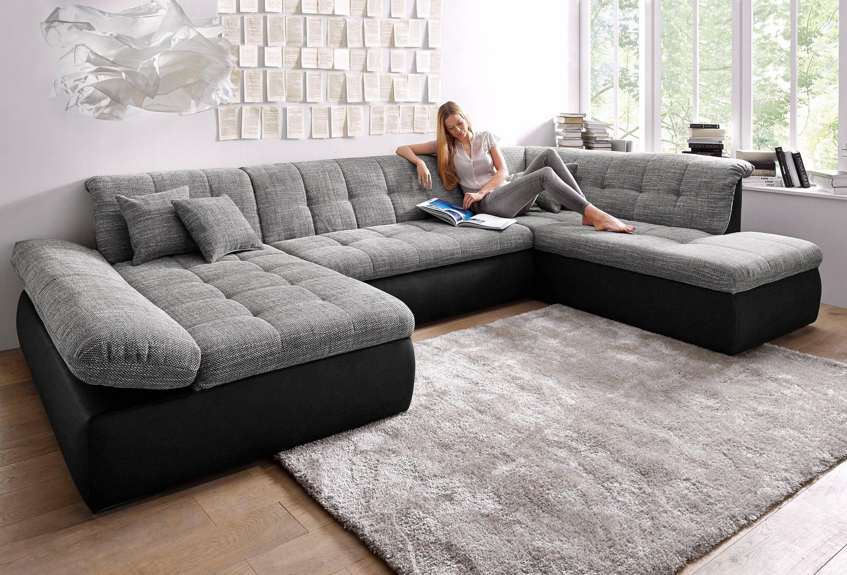 Wohnlandschaft Schwarz Recamiere Links Mit Bettfunktion Fsc Zertifiziert Yourhome Jetzt Bestellen Unter Https Moebel Lad Moderne Couch Wohnen Haus Deko