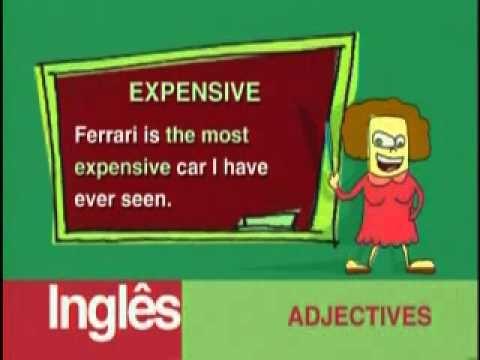 Curso de inglês 2 TV Cultura 01 de 09  ING.2- 01. Adjectives