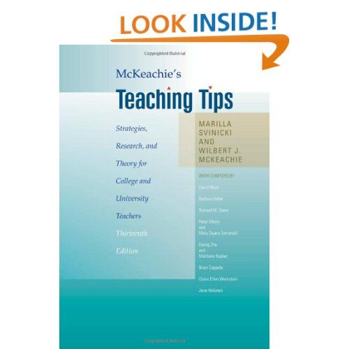 MCKEACHIE TEACHING TIPS EPUB DOWNLOAD