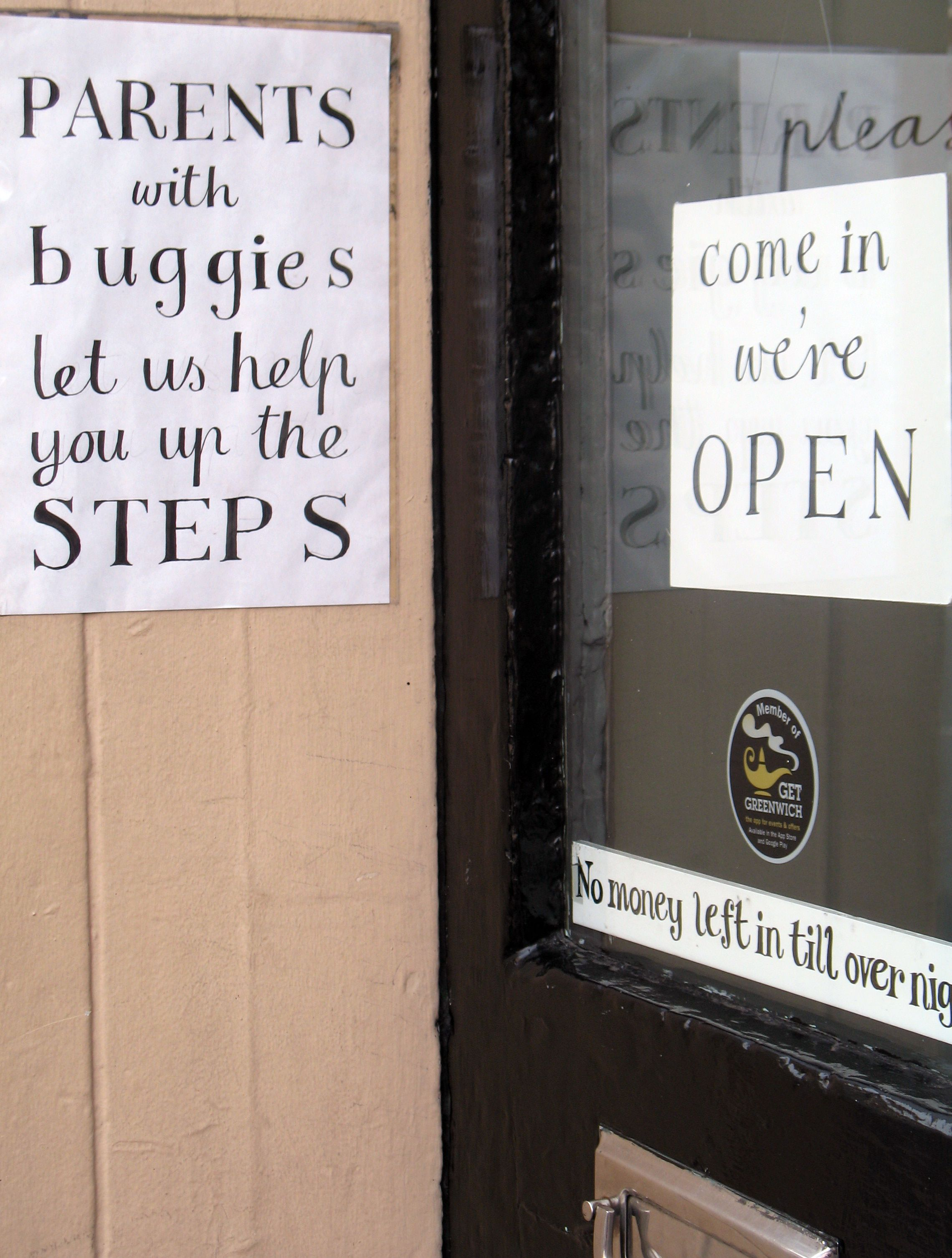 Zielsveel Design ~ London Type ~ Collection // Come in, we're open. Parents with buggies let us help you. @ lushdesign, Greenwich