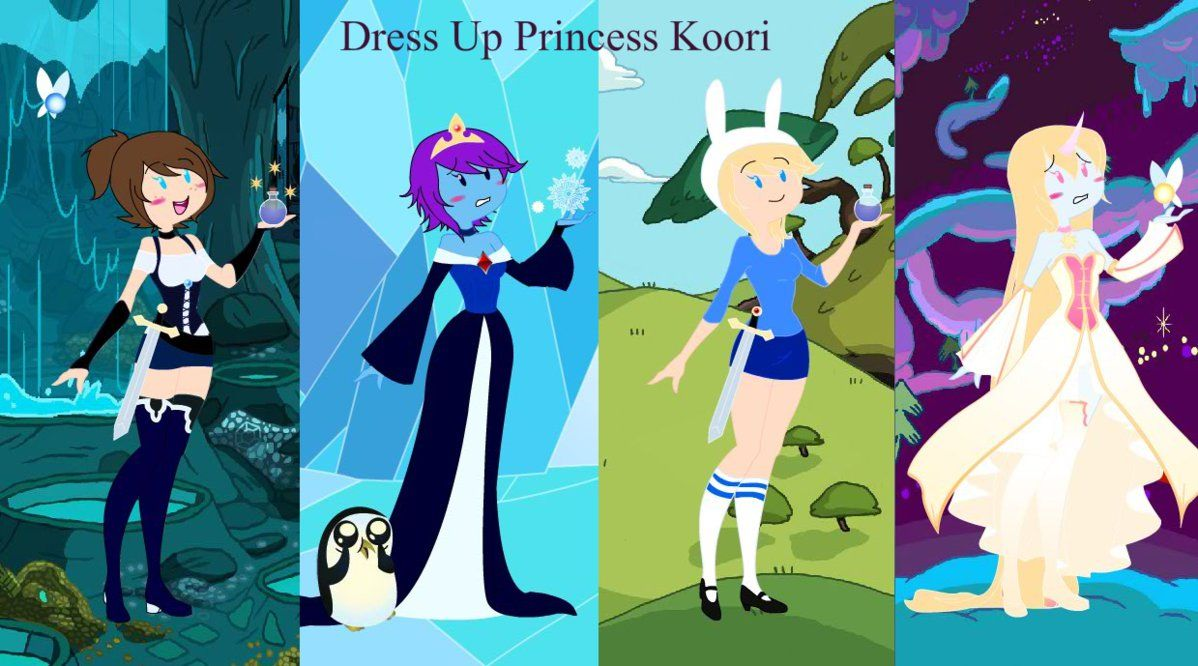 Dress Up Princess Koori Ver. 8 by SaraSapphire8.deviantart.com on