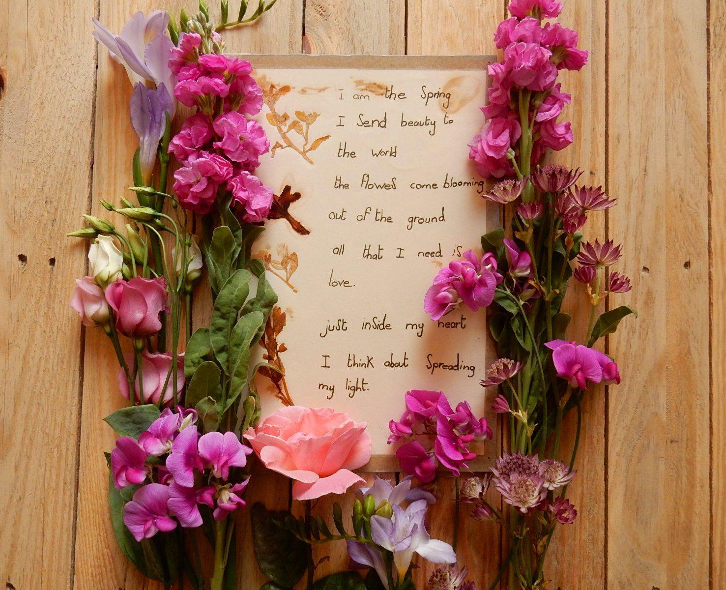 An Ode to Spring | Spring, Bloom, Spring living