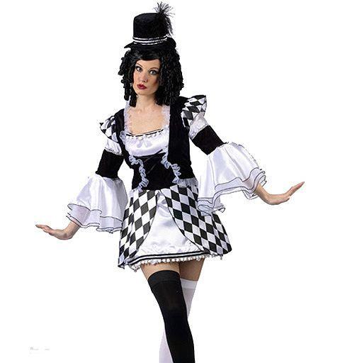 Harlow Quinn Clown Costume | Womens Clown Halloween Costumes  sc 1 st  Pinterest & Harlow Quinn Clown Costume | Womens Clown Halloween Costumes ...