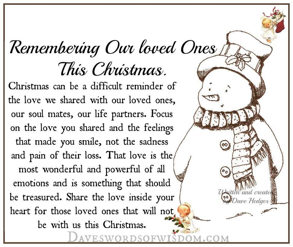 Heaven Quotes For Loved Ones Remembering Our Loved Ones This Christmas Christmas Christmas