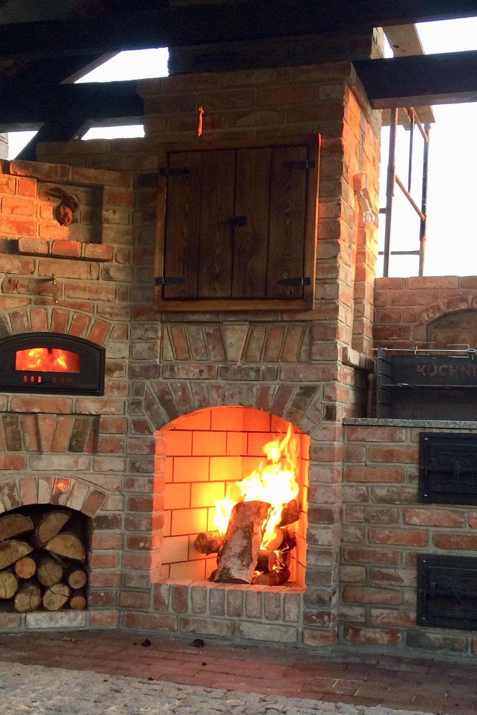 Pin By Kuchnia W Ogrodzie On Kuchnia Letnia Outdoor Kitchen Sauna Diy Backyard Bbq