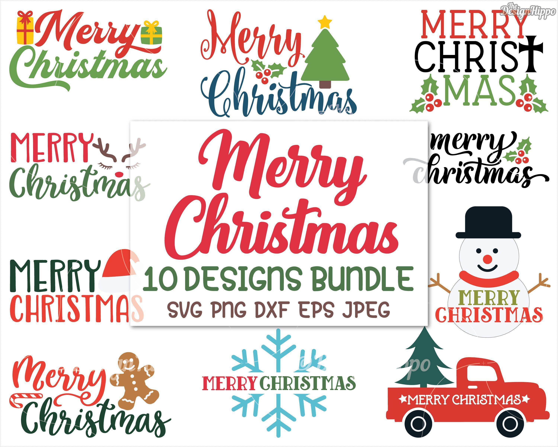 Christmas Svg Bundle Merry Christmas Svg Bundle Christmas Etsy Christmas Svg Christmas Signs Christmas Svg Files