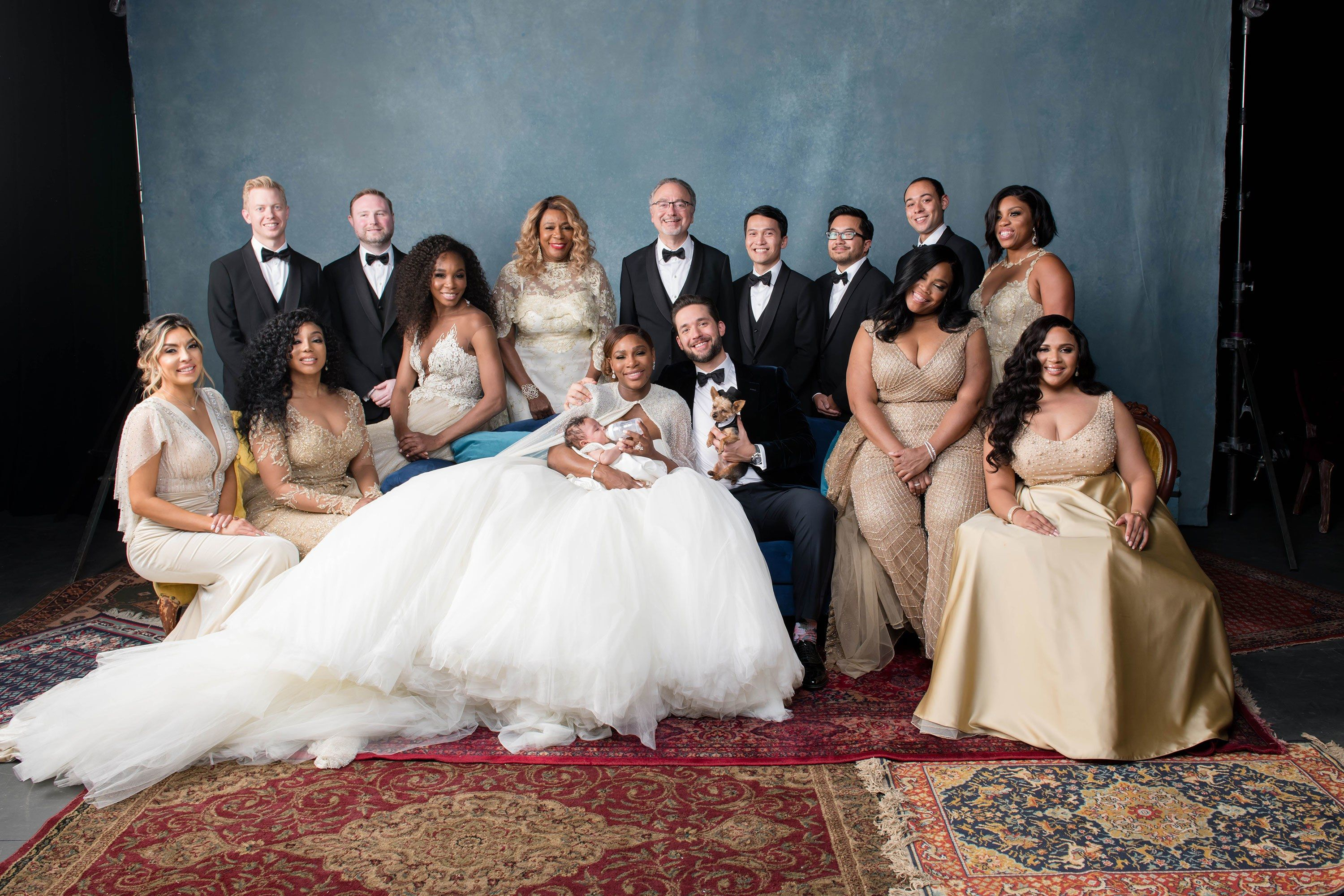 Inside Serena Williams S Fairy Tale Wedding In New Orleans Serena Williams Wedding Night Wedding Photos White Wedding Decorations