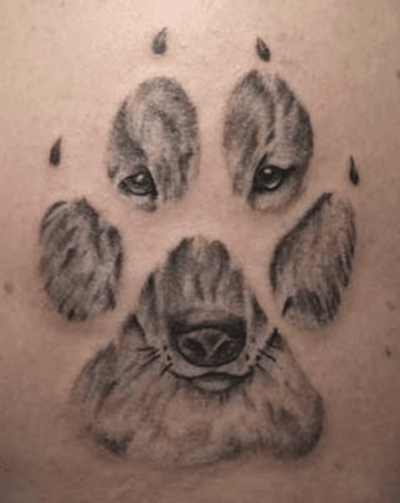 Top 20 Dog Paw Tattoos To Be Cherished And Admired | Olivia