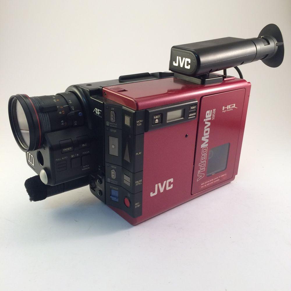 Vintage Jvc Gr C7u Video Camera Camcorder With Case And Accessories Video Camera Vintage Camcorder