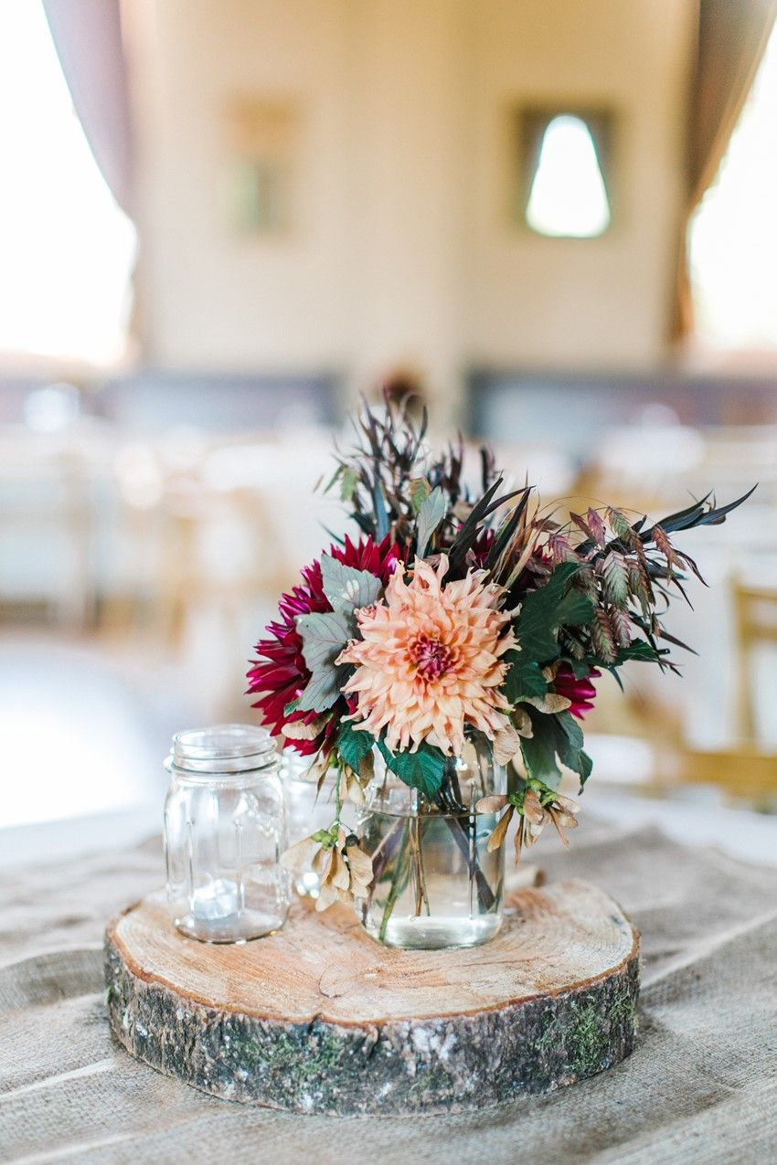 A sweet vintage inspired fall wedding