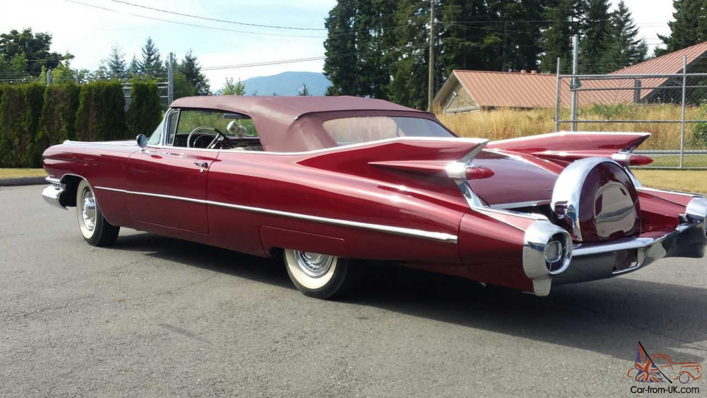 59 Cadillac With Continental Kit Cadillac The Standard Of The