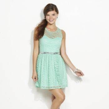 Kohls Candies Mint green lace dress | Cute dresses | Pinterest ...