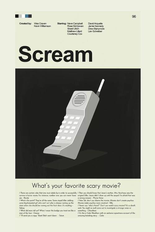 Scream - Canvas Print