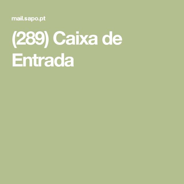 (289) Caixa de Entrada
