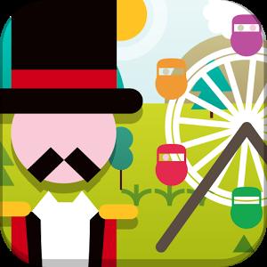 Funland, un jeu pour apprendre l'anglais autour du thème de la fête foraine, destiné aux 7 à 12 ans.  https://play.google.com/store/apps/details?id=air.com.CambridgeEnglish.Funland