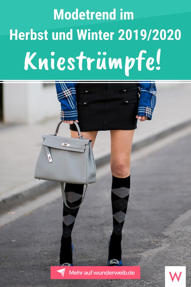Kniestrümpfe: So stylst du den Modetrend im Herbst und ...