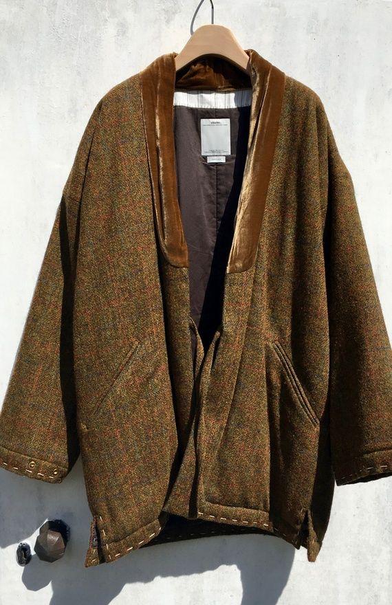 7bdff30d Visvim Dotera Coat Harris Tweed (Silk) Size US XL / EU 56 / 4 | 中村 ...