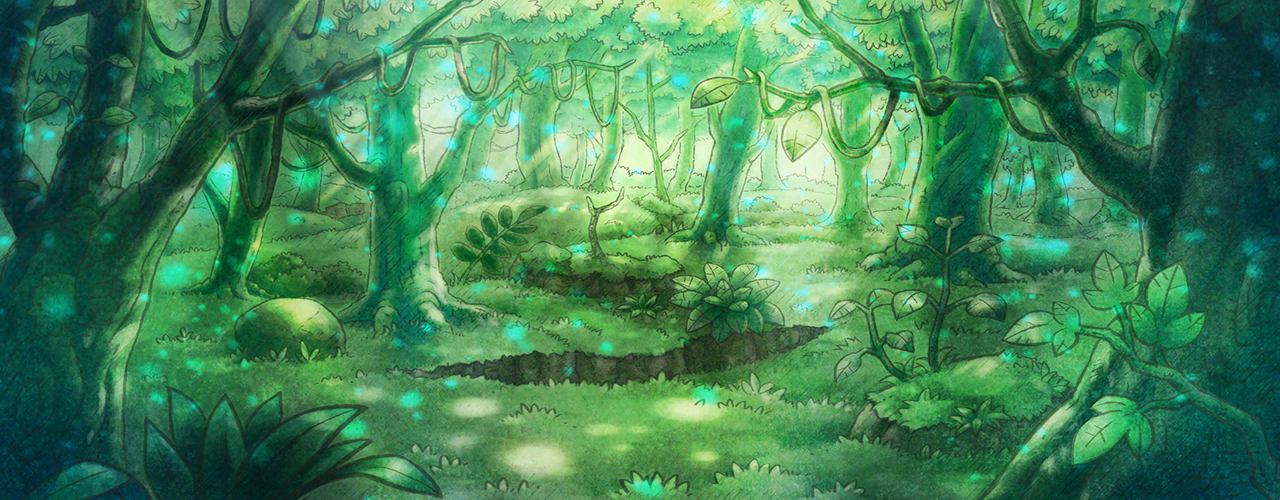 Overgrown Forest Pmd Dx Mystical Forest Forest Rescue Team