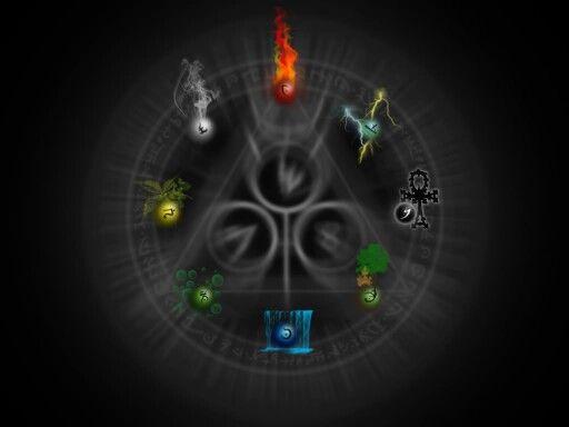 Elements Magic Wallpaper Elemental Magic Magic Elements Black magic wallpaper hd