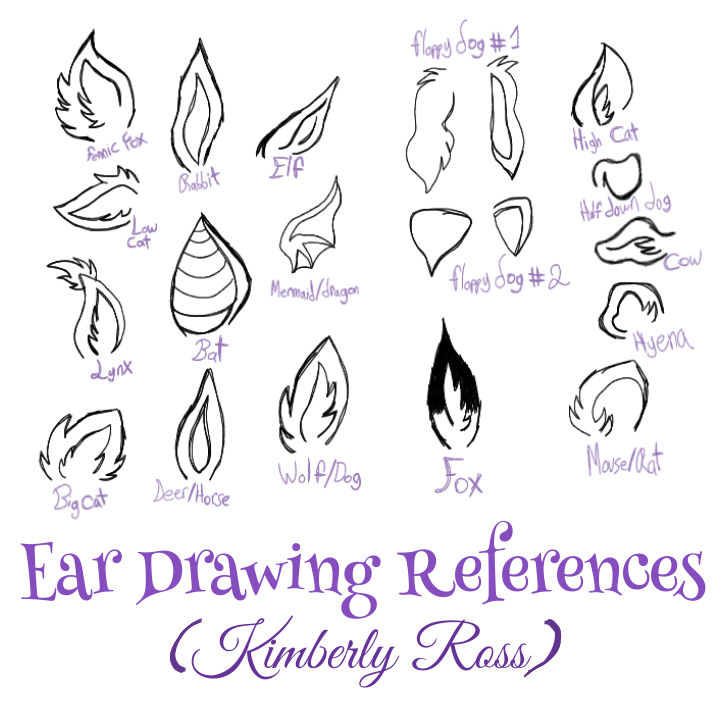 Drawing References For Ears In 2020 Drawing Reference Hand Drawing Reference Art Reference Poses