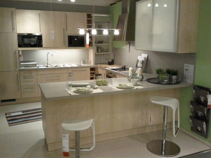 küchentraum bei ikea. ideal für eine wohnküche | my house ...