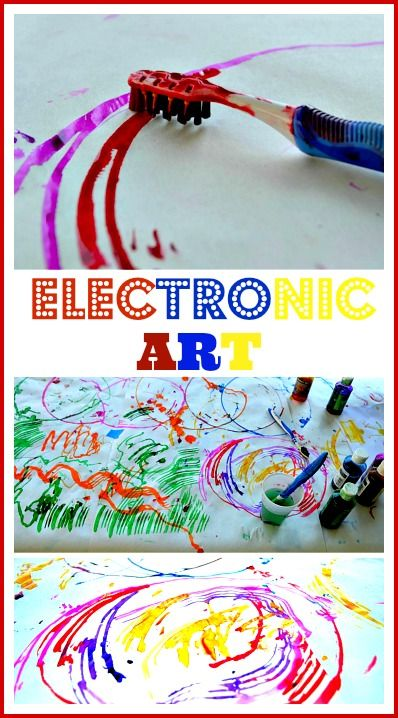 Super fun art project with just 2 supplies..and it seems very magical for younger kids #artactivities