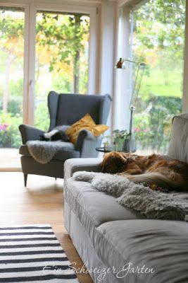Strandmon Ohrensessel Ikea Interiordesign Wohnzimmer