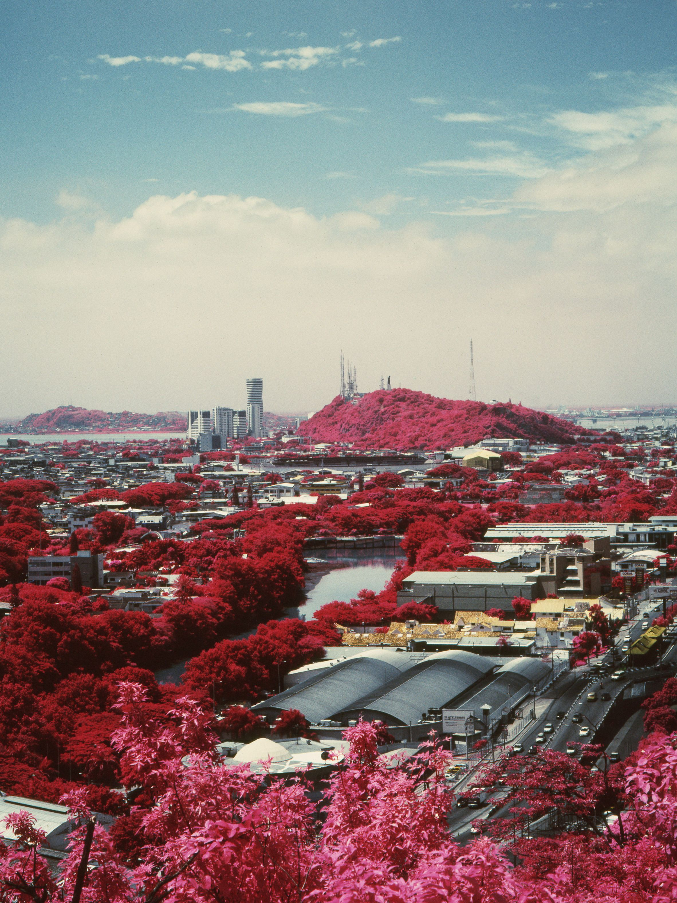 Vicente Munoz S Infrared Photos Highlight The Battle Between City And Nature Landscape Photography Tutorial Landscape Photography Infrared Photography
