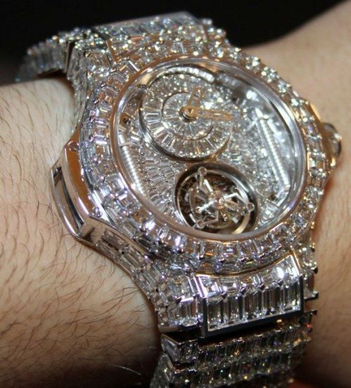 Rolex Blinged Out Black Guy